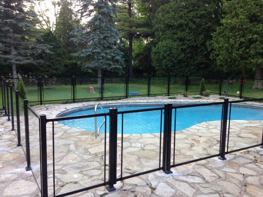 awesome cloture piscine verre photos